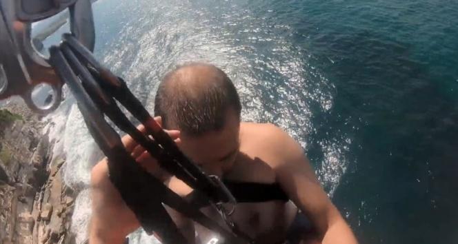 Kandıra'da denize giren 1 kişi öldü, 1 kişi son anda kurtarıldı