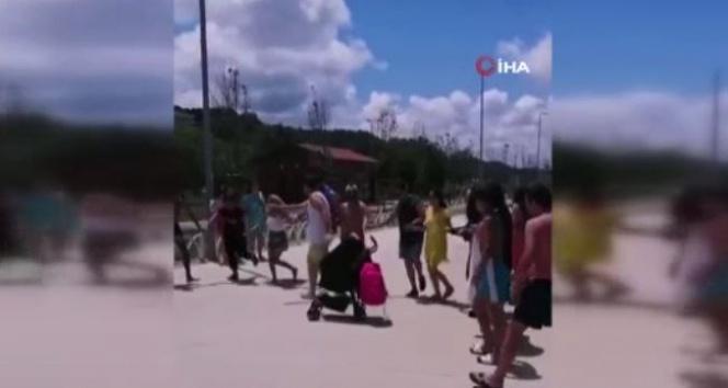 Şile'de sosyal mesafesiz halay pes dedirtti
