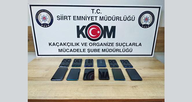 Siirt'te kaçakçılık operasyonu: 5 gözaltı