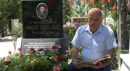 """15 Temmuz şehidi babası: """"FETÖcüler hainliklerinden vazgeçmiş değiller"""""""