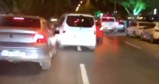 Trafikte makasçı terörü