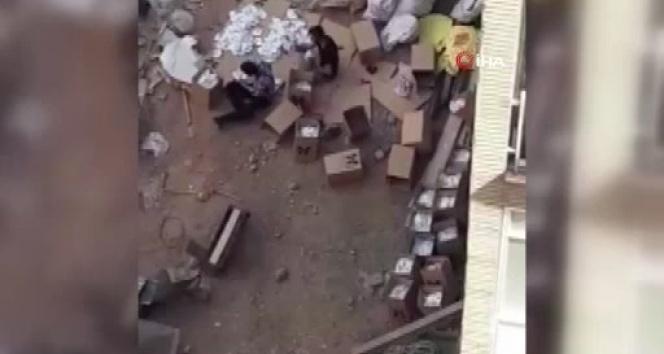 İran'da çöplerden toplanan maskelerin yeniden satıldığı iddiası