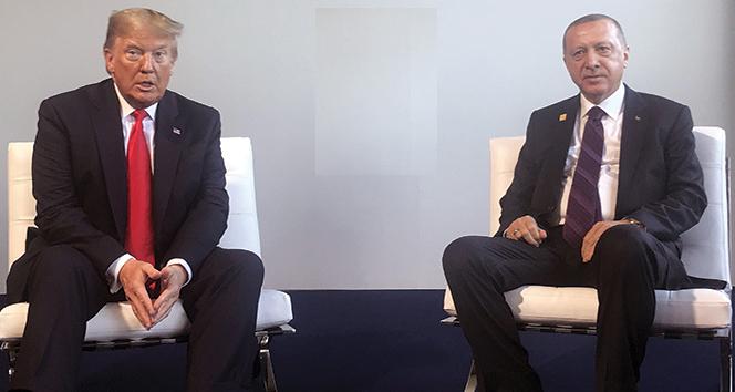 Cumhurbaşkanı Erdoğan, ABD Başkanı Trump ile telefonda görüştü