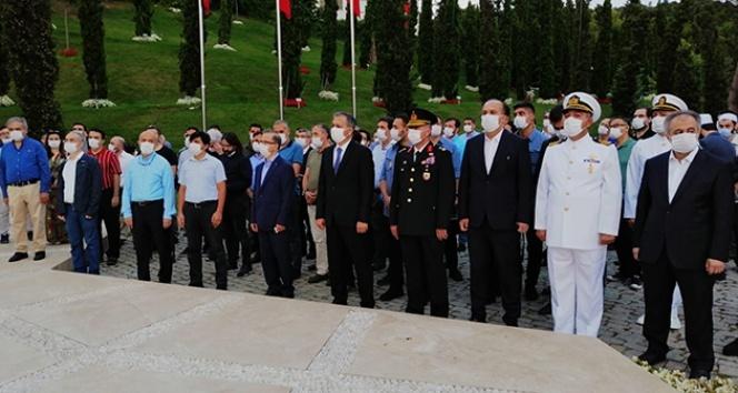 Kent protokolü 15 Temmuz Şehitler Anıtını ziyaret etti