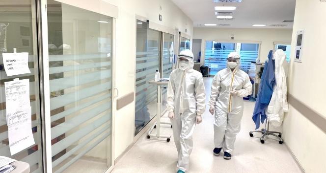 Bu hastanede hiçbir personel hastalardan Korona kapmadı