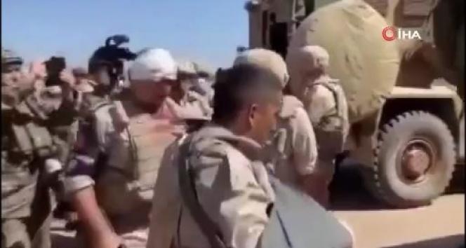 M-4 karayolundaki saldırıda yaralanan Rus askerler görüntülendi