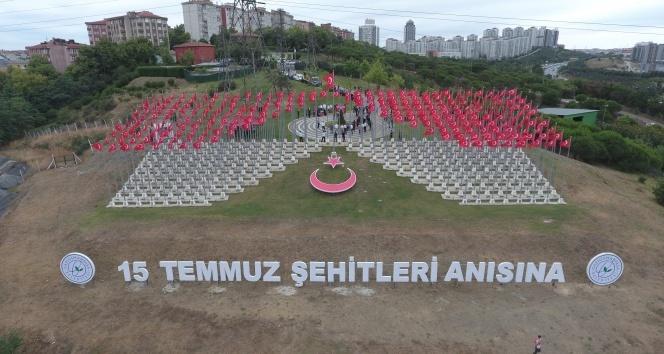 15 Temmuz şehitleri Gaziosmanpaşa'da anıldı
