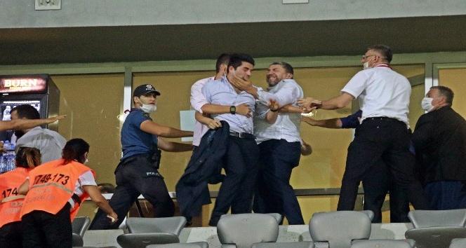 Play-Off maçının ardından ortalık karıştı