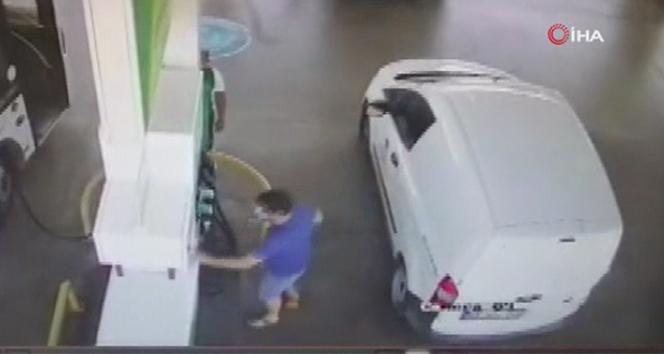 Pınar Gültekinin katil zanlısının benzin istasyonundaki görüntüleri ortaya çıktı