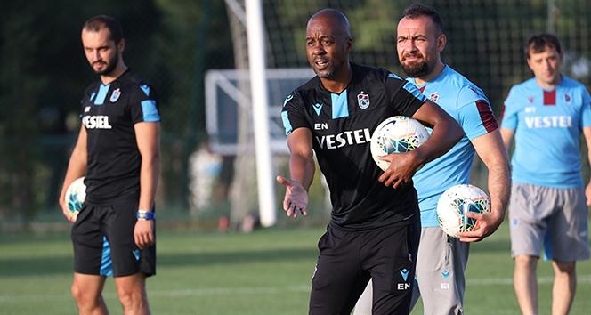 Trabzonspor, Eddie Newton yönetiminde çalıştı