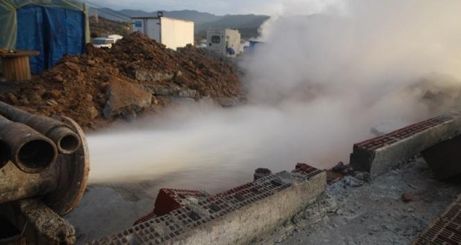 Sındırgı'da iki ayrı kaplıca suyu tek tesiste birleşiyor