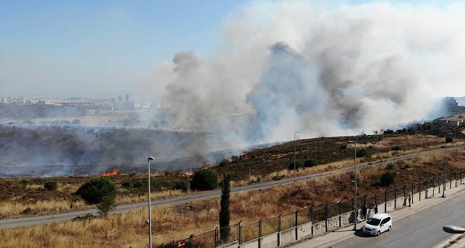 Milli Savunma Bakanlığı'ndan askeri arazide çıkan yangın açıklaması