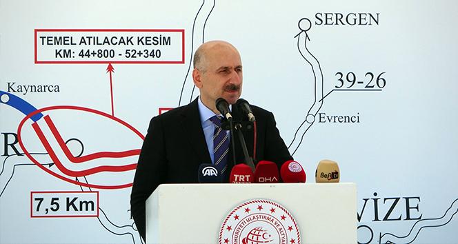 Bakan Karaismailoğlu'dan hızlı tren açıklaması: 'İki şehir arası 1 saat 20 dakikaya düşecek'