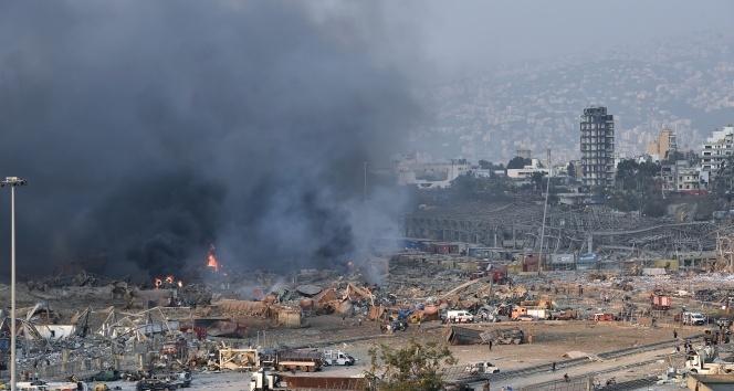 Beyrut'taki patlama sonrası ülkelerden Lübnan'a destek ve başsağlığı mesajları