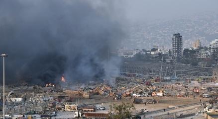 Beyruttaki patlama sonrası ülkelerden Lübnana destek ve başsağlığı mesajları