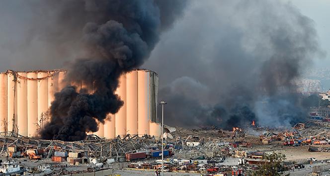 Beyrut'ta meydana gelen patlama Tahran'da da yaşanabilir