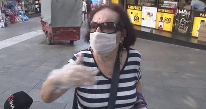 Kadıköy'deki denetimlerde vatandaşın tepkisi: 'Ben Moda'da yürüyemiyorum hepsi maskesiz kaçıyorum'