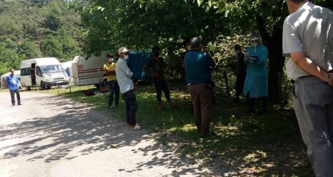 Fındık işçileri karantinaya alındı