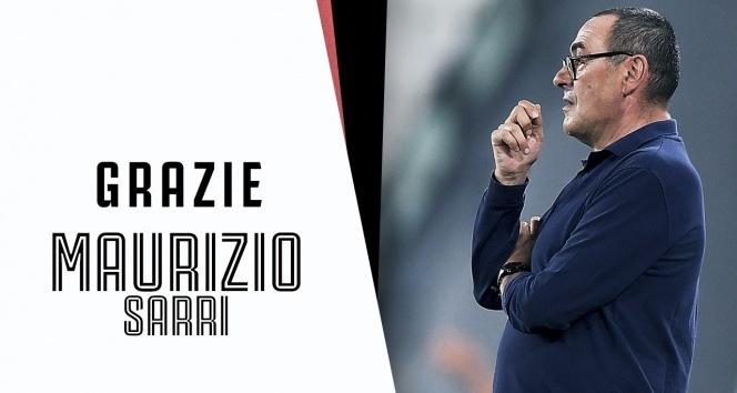 Juventus Sarri ile yolların ayrıldığını açıkladı