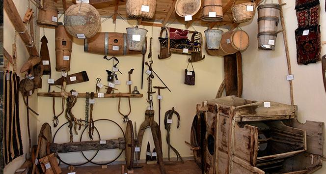Köyün 200 yıllık tarihini oluşturdukları müzede yaşatıyorlar