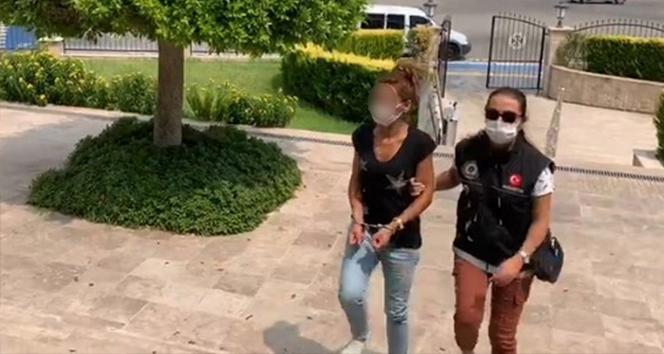 Polis, turist görünümlü zehir tacirini otogarda karşıladı