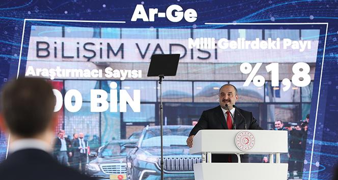 Sanayi ve Teknoloji Bakanı Varank: Ülkemizi dünyanın sayılı üretim ve teknoloji üstlerinden birisi yapmayı hedefliyoruz