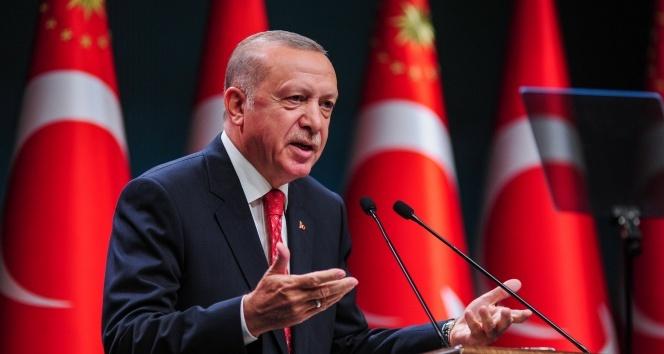 Cumhurbaşkanı Erdoğan: 'Türkiye bu suni rüzgarlarla eğilip bükülebilecek bir ülke değildir'