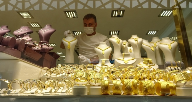 Altın artışta kuyumcular imtihanda
