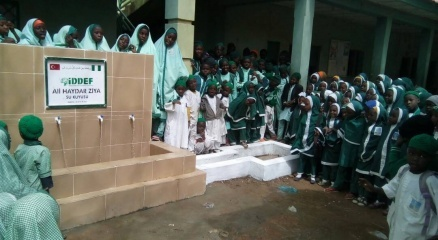 İDDEF, Nijeryada 132 su kuyusu açtı
