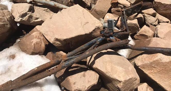 Bitlis'te düşen uçağın parçalarına 61 yıl sonra rastlandı