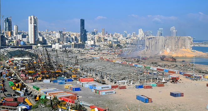 Beyrut Limanı faciasında 3 bin 972 bina ve 4 bin 214 araç hasar gördü