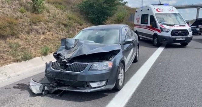 Kuzey Marmara Otoyolu'nda feci kaza: 1 ölü, 2'si çocuk 4 yaralı