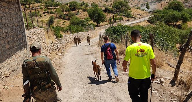 Diyarbakır'da kaybolan Miraç'ı arama çalışmaları 14'üncü gününde