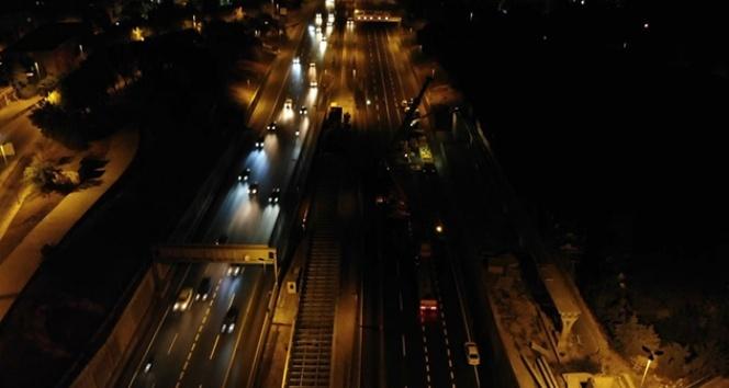 Edirnekapı Metrobüs İstasyonu'nda yeni üst geçit çalışması başladı