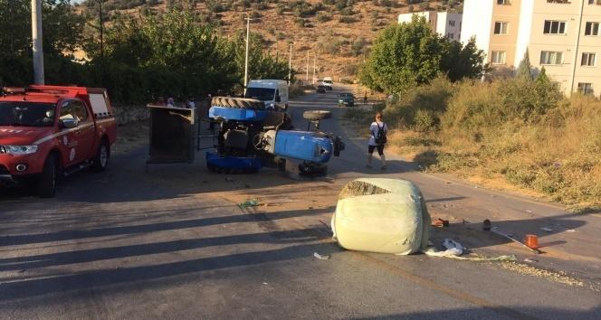 Milas'ta traktör kazası; 1 kişi hayatını kaybetti