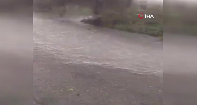 Trabzon'da sel ve heyelan!