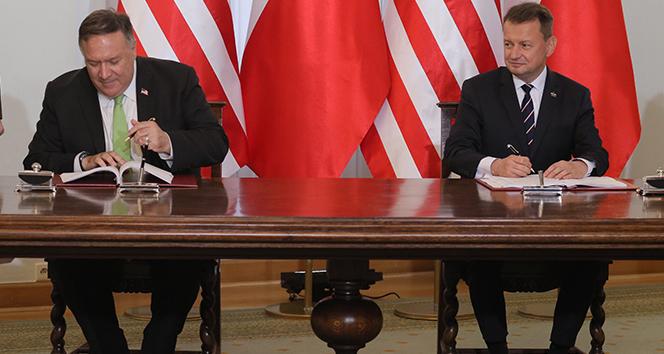 ABD ile Polonya arasında 'Güçlendirilmiş Savunma İşbirliği Anlaşması' imzalandı