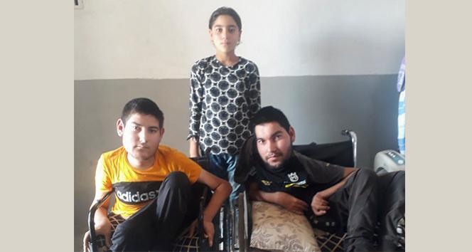 Suriye'de yaşayan ikisi engelli 3 Türkmen kardeşten Türkiye'ye 'Yardım edin' çığlığı