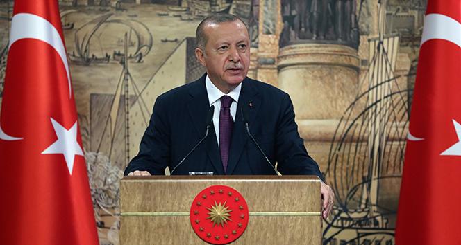 Cumhurbaşkanı Erdoğan müjdeyi açıkladı: Türkiye tarihinin en büyük doğalgaz keşfini Karadenizde gerçekleştirdi