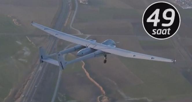 Türk Havacılık ve Uzay Sanayii'nin göz bebeği Aksungur uçuş testini tamamladı