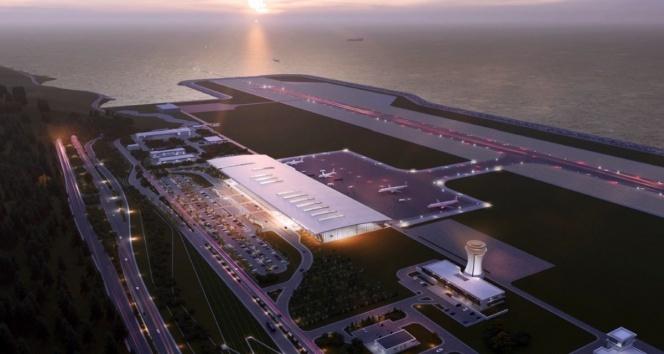 'Rize-Artvin Havalimanı inşaatı yüzde 76 seviyelerine geldi'