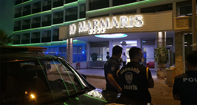 Marmaris'te ruhsatsız otel mühürlendi, turistler başka otellere yerleştirildi