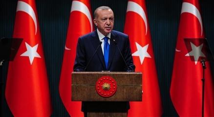 Cumhurbaşkanı Erdoğandan düşen askeri helikopterle ilgili paylaşım