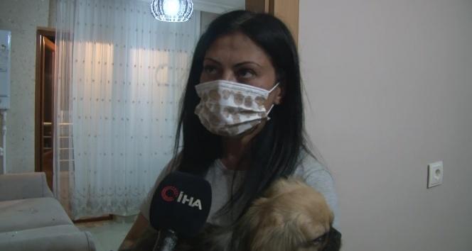Şikayetini geri çekmeyen sevgilisinin köpeğini 5. kattan attı