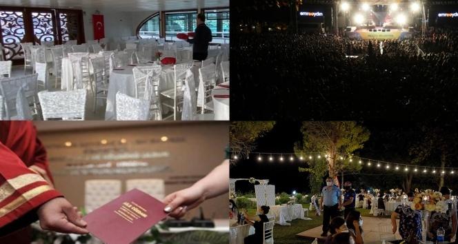 İstanbul'da konserlere ve deniz araçlarındaki düğünlere yasak