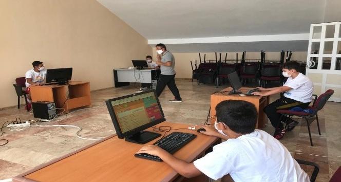 Gençlik ve Spor İlçe Müdürlüğü'nde EBA Merkezi oluşturuldu