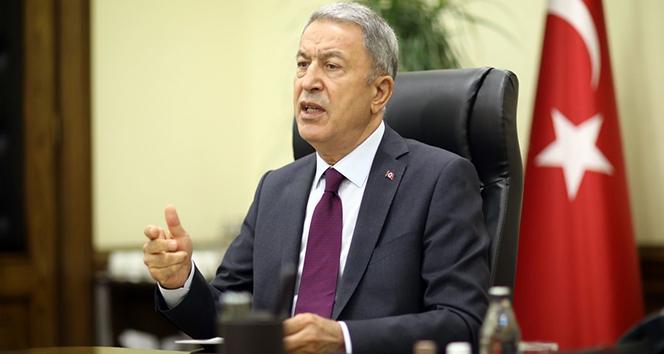 Bakan Akar: 'Etkisiz hale getirilen terörist sayısı 68'e yükseldi'