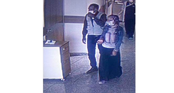 Covid-19 testi pozitif çıkan kız hastaneden kaçtı
