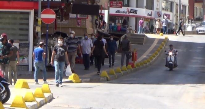 Vakaların arttığı Çankırı'da maske var sosyal mesafe yok