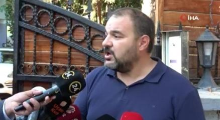 Ünlü şarkıcı Halil Sezainin darp ettiği 67 yaşındaki Meriçin oğlu basın mensuplarına konuştu